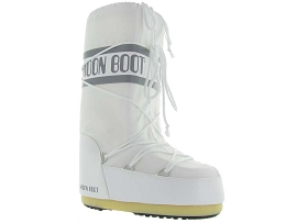 LADY MOON BOOT NYLON ADULTE:Synthétique/Blanc/Blanc