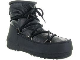 Moon boot apres ski bottes fourrees mb we low glitter noir