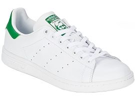 5120 STAN SMITH JUNIOR:Cuir lisse/Blanc/Blanc