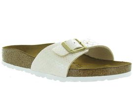 MEXIMOO MADRID SHINYS:Croco/Beige/Beige