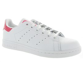 VOLT ONE STAN SMITH PERFORE:Cuir lisse/Blanc/Blanc