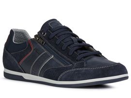 Geox chaussures a lacets u024ga renan marine