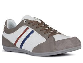 Geox chaussures a lacets u02p1a houston sp blanc
