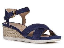 ARIZONA GRACEFUL D02HHC ISCHIA:Nubuck/Bleu/Marine