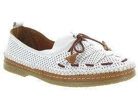 Baboos chaussures a lacets 155704 blanc