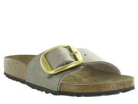 D15NUA SPHERICA MADRID BIG BUCKLE GLITTER:Synthétique/Beige/Beige