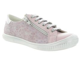 Bopy chaussures a lacets sandrine rose pale