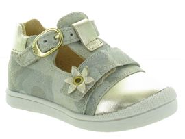 KAKATOES PUPPY:Cuir lisse/Beige/Or