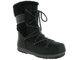 MADRID SHINYS MB MONACO WOOL MID WP:Nylon/Noir/Noir