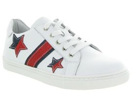 Bellamy chaussures a lacets tarn blanc