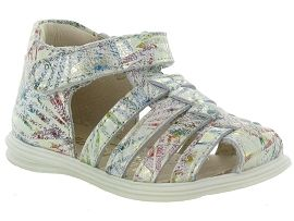 SO ROCK PAILLETTE:Cuir laminé/Multicolor/Multicolor