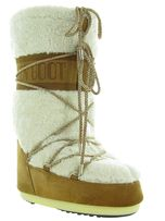 Moon boot apres ski bottes fourrees mb wool camel