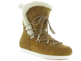 Moon boot apres ski bottes fourrees mb far side high shearling camel