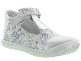 CLASSIC LINED GRAPHIG CLOG REINA:Cuir lisse/Multicolor/Tricolore