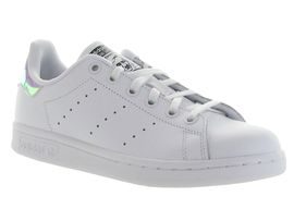 ALOUETTE STAN SMITH JUNIOR:Cuir lisse/Blanc/Blanc