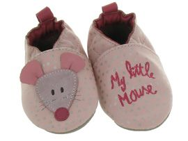ROBEEZ LITTLE MOUSE<br>Rose