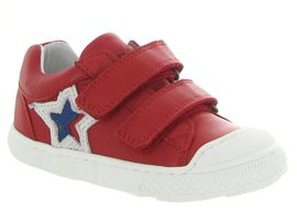 Bellamy chaussures a scratch gap rouge