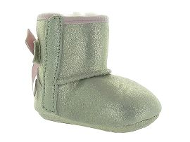 UGG AUSTRALIA JESSE BOW II METALLIC<br>Or