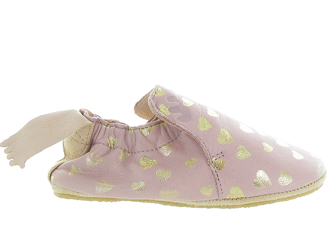 Easy peasy chaussons et pantoufles blublu lovely rose