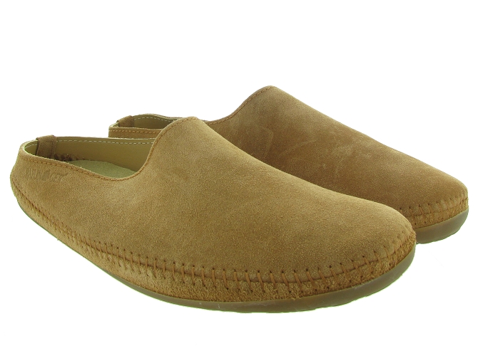 Haflinger chaussons et pantoufles softino marron
