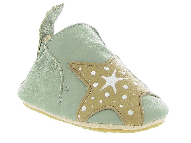 Easy peasy chaussons et pantoufles blublu s star vert