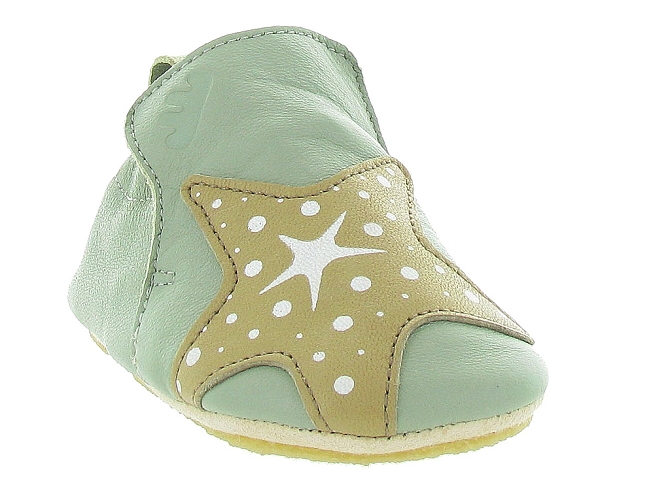 Easy peasy chaussons et pantoufles blublu s star vert5095401_3