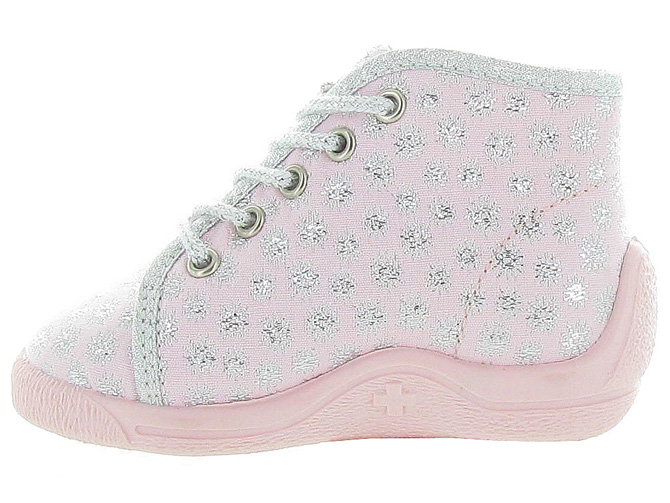 Bellamy chaussons et pantoufles dac rose pale5100301_3