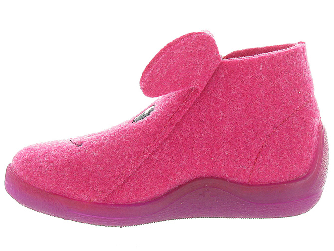 Bellamy chaussons et pantoufles prague fushia9992901_3