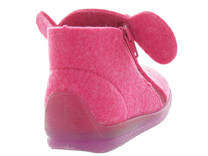 Bellamy chaussons et pantoufles prague fushia9992901_4