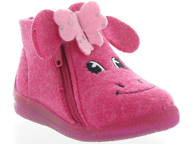 Bellamy chaussons et pantoufles prague fushia9992901_5
